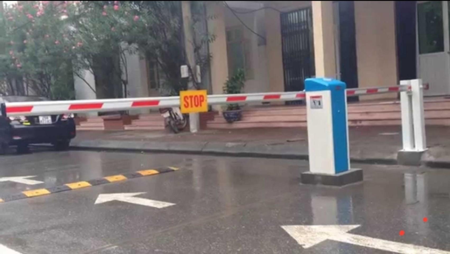 Lắp cổng barie tự động tại Nghệ An