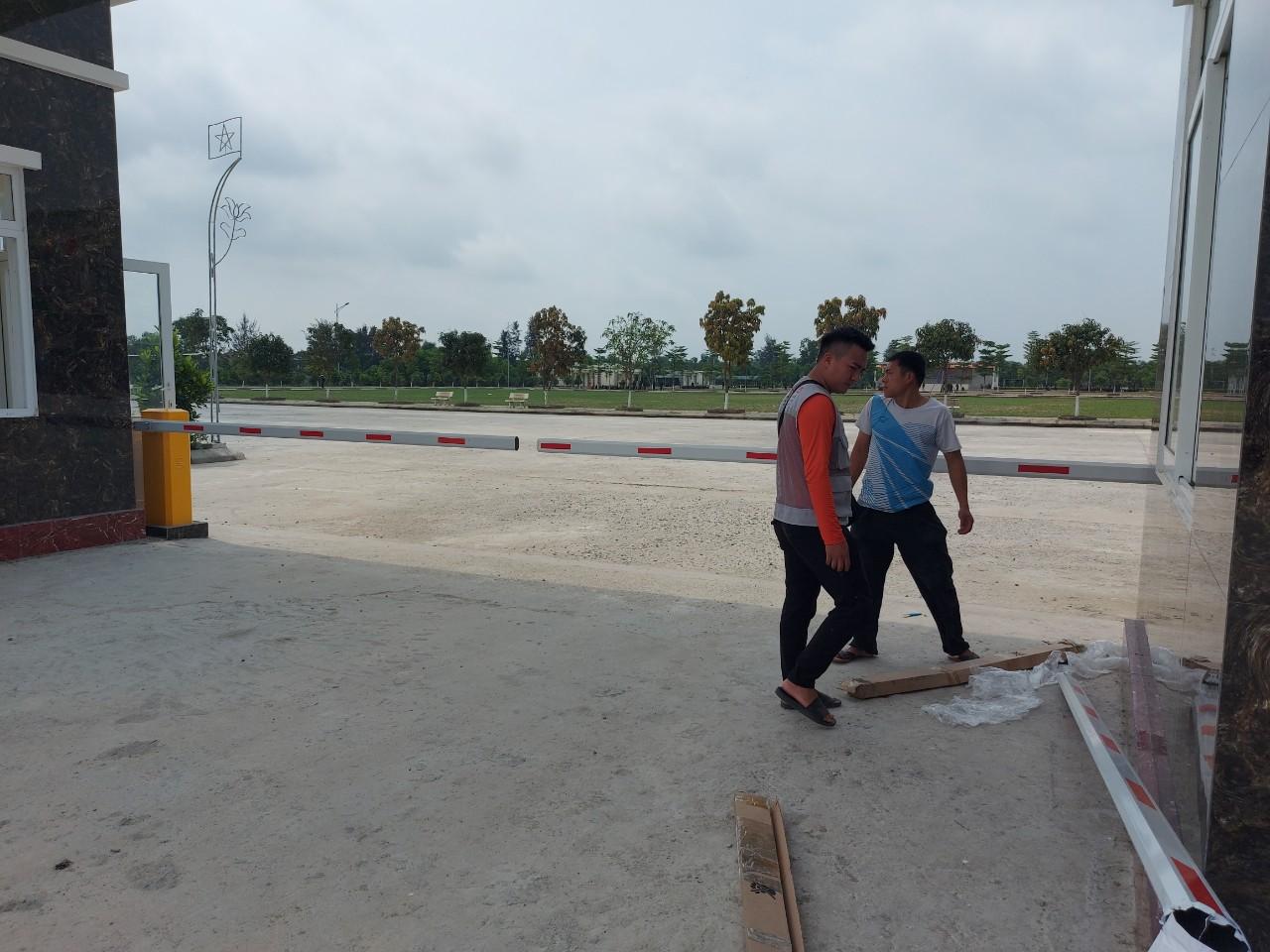 Lắp cổng barie tự động tại Vinh